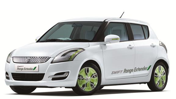 Гибридный Suzuki Swift