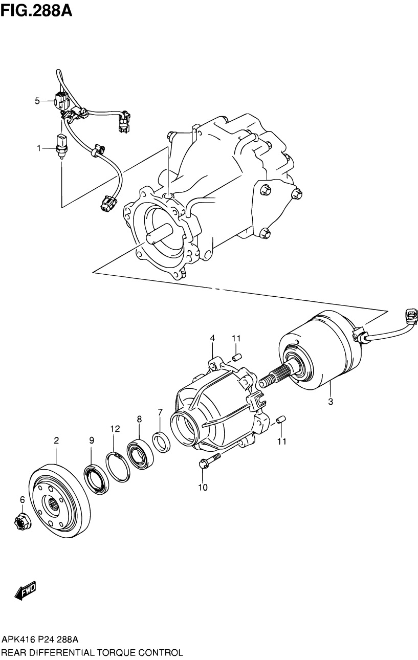 288A - REAR DIFFERENTIAL TORQUE CONTROL (4WD)